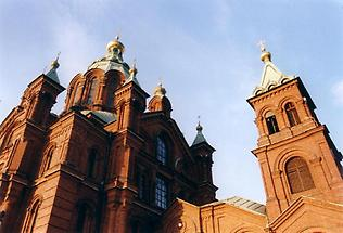Uspenski-cathedral close-up