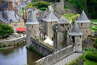 Fougères - Fortress; Entrance (2)