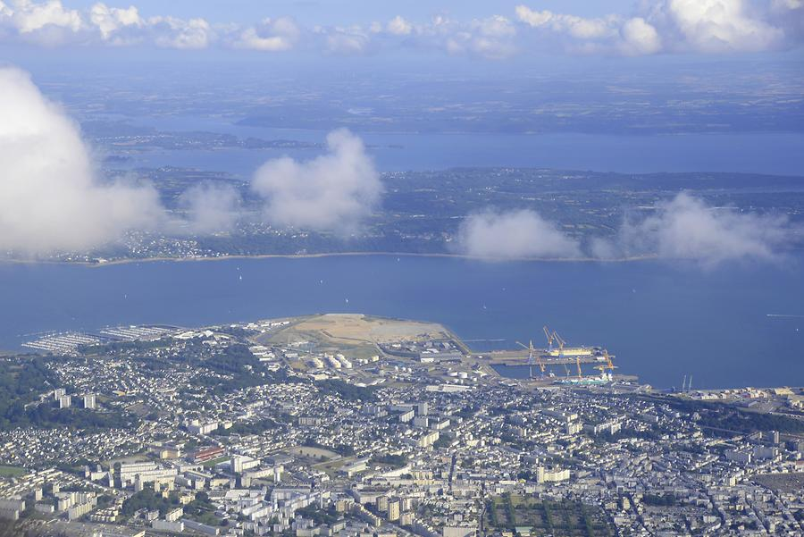 Brest from above