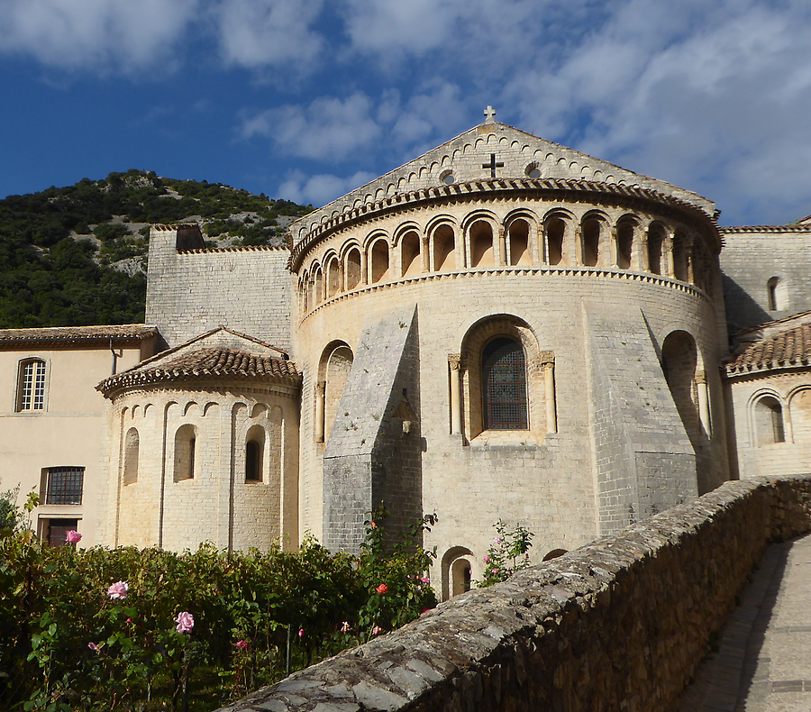 Church Saint Guilhem, Photo: H. Maurer, 2015
