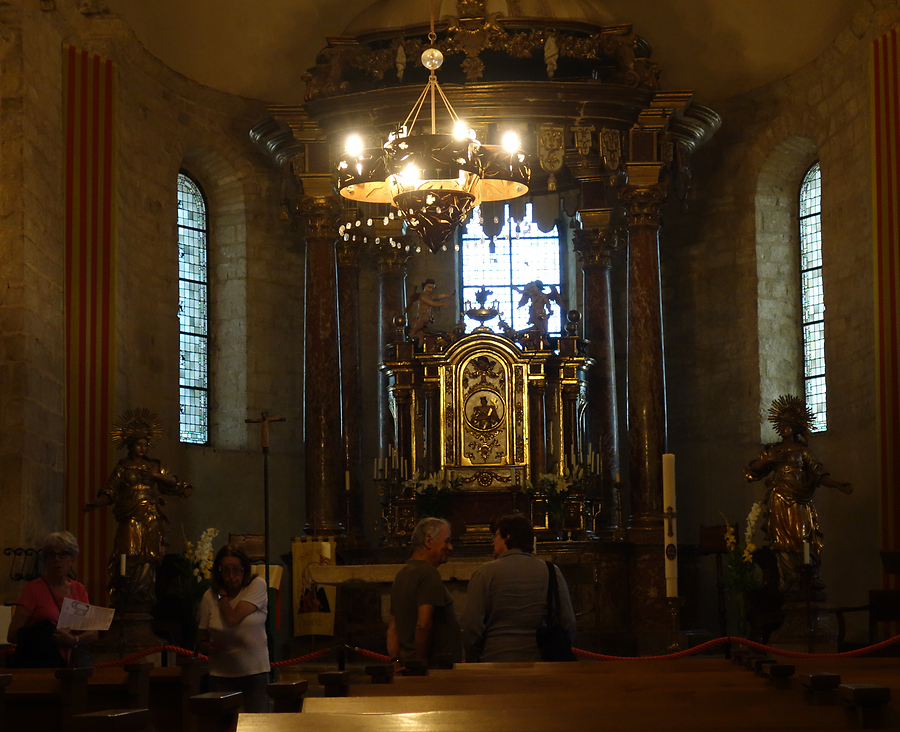 Inside the church, Photo: U. Maurer, 2015