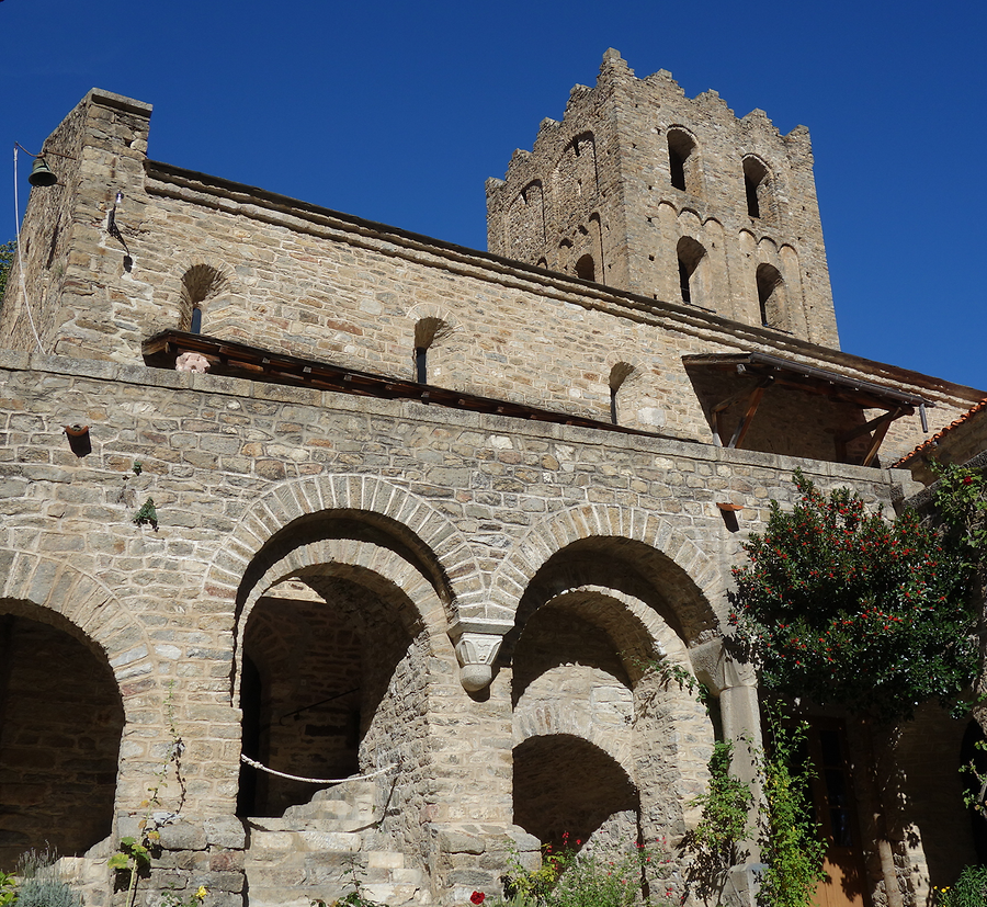 Saint Martin cloister and church, Photo: H. Maurer, 2015