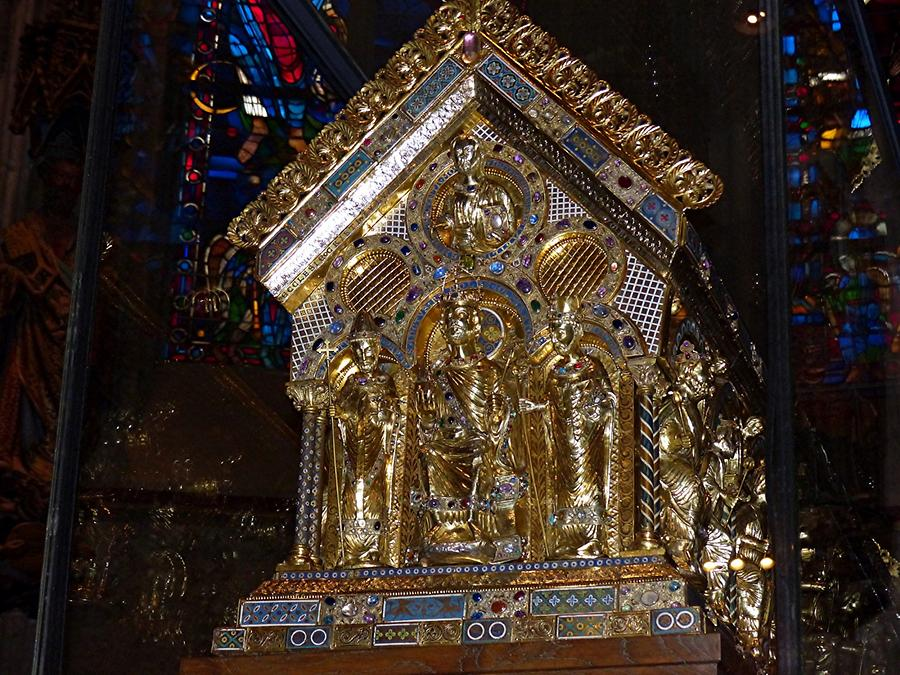 Aachen - Cathedral; Shrine of Charlemagne