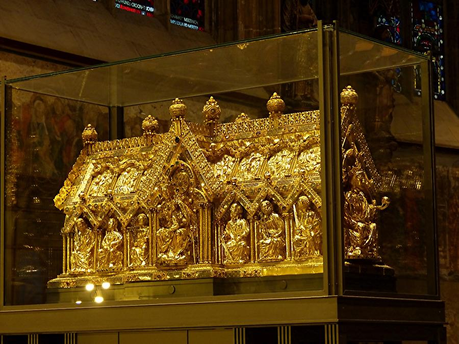 Aachen - Cathedral; Shrine of St. Mary