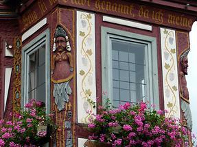 Seligenstadt - Einhardhaus; Detail