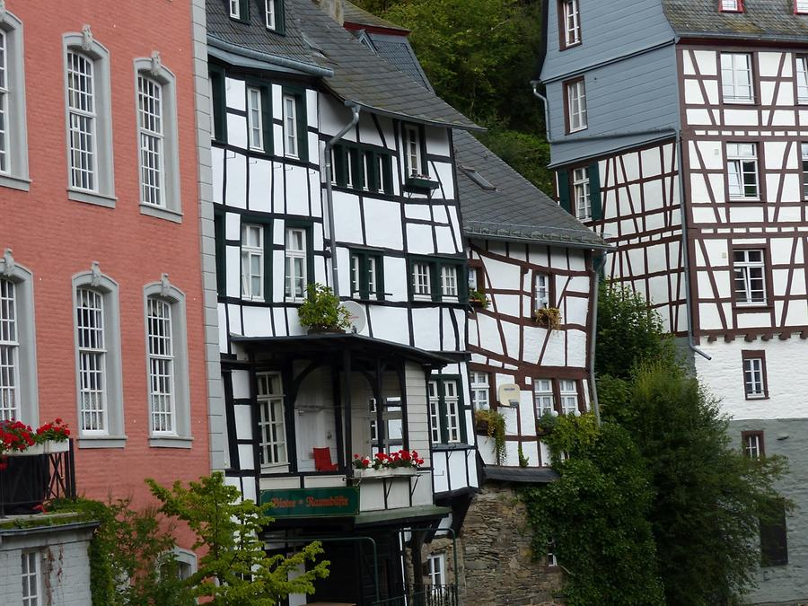 Monschau - Warped Timber-framed Houses