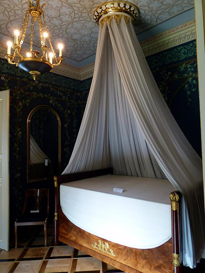 Castle Rosenau - Bedroom of Queen Victoria