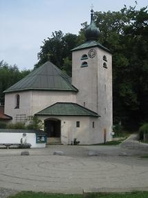 Prien - Evang. Christuskirche - Kirchenweg 13 - Labyrinth (2)