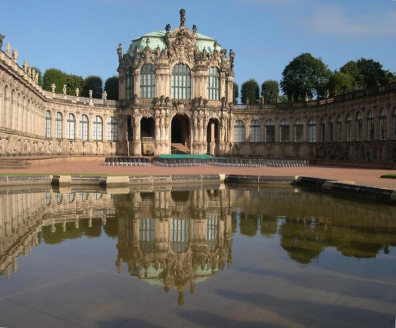 Baroque Zwinger palace