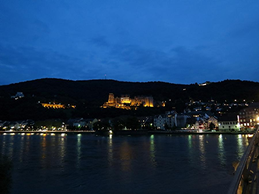 Heidelberg - Historic Centre, Neckar and Castle