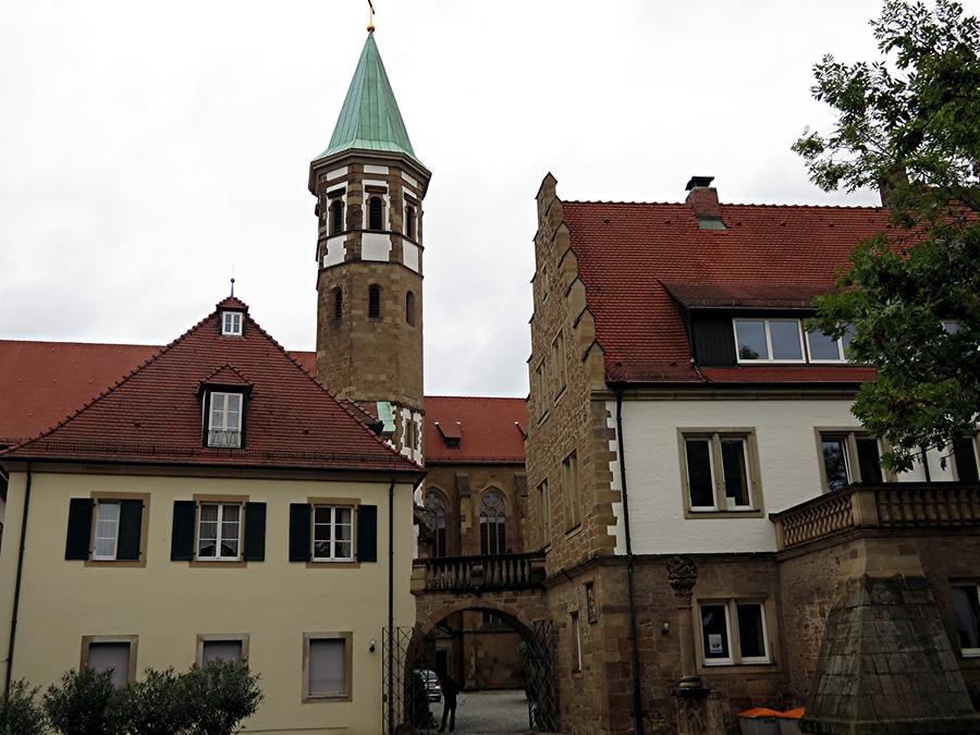 Heilbronn - Catholic Teutonic Order Minster and 'Deutschhof'