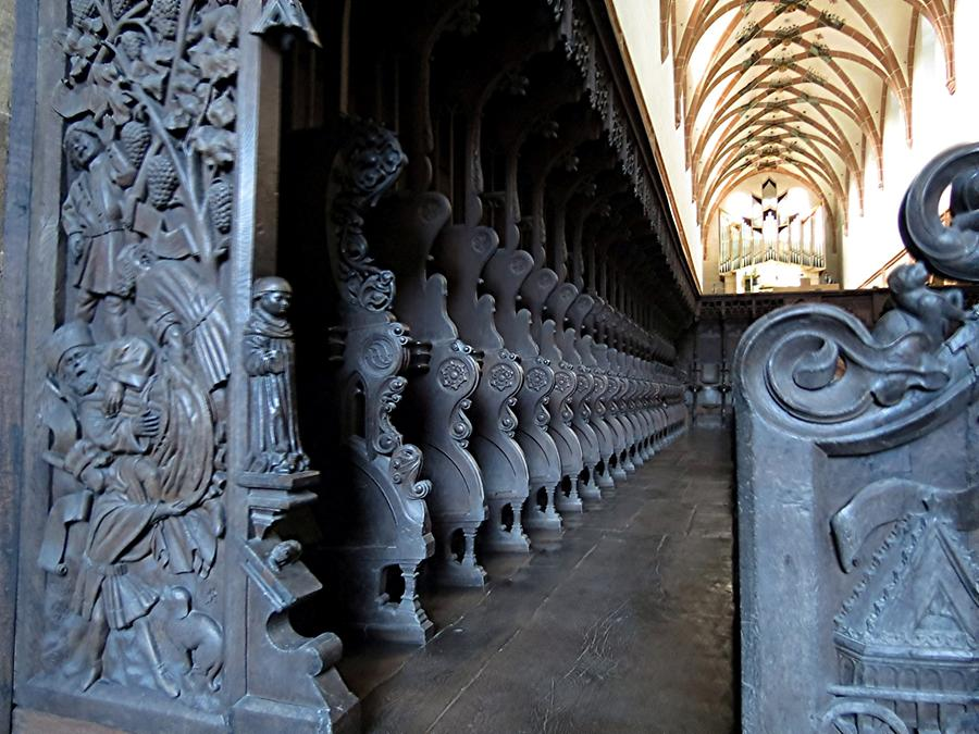 Maulbronn Abbey - Choir Stalls, around 1450