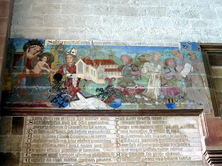 Maulbronn Abbey - Donor Painting from 1424