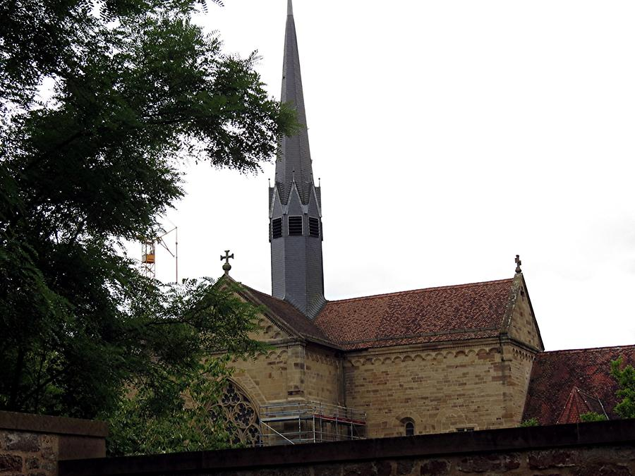 Maulbronn Abbey - Monastery Church with Crossing Tower