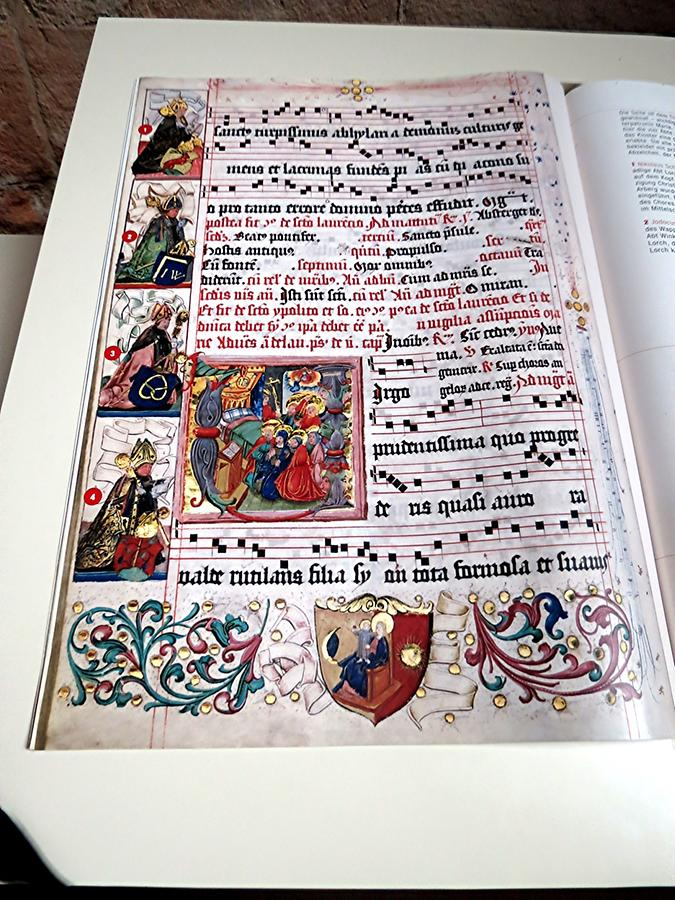 Lorch - Abbey Church; Antiphonary