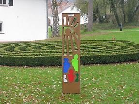 Höchst im Odenwald - Kloster Höchst - Labyrinth (1)