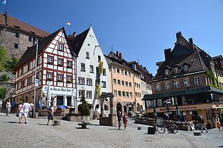 Square in Nuremberg