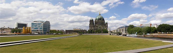 Berlin Cathedral panorama