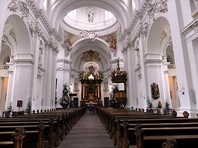 Fulda - Cathedral; Inside