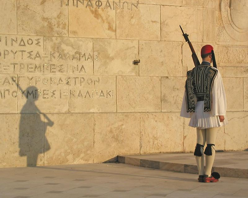Soldier in Syntagma Square, Athens