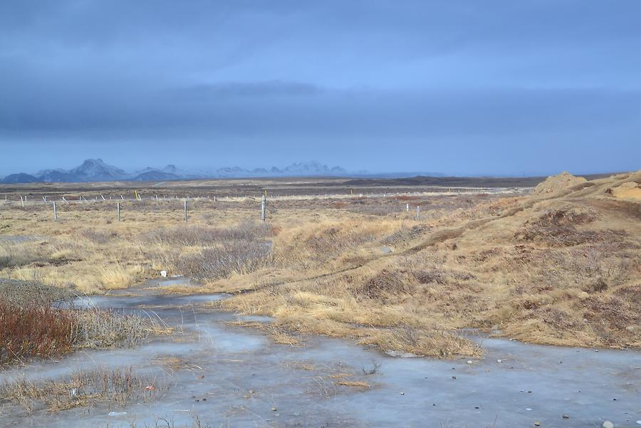 Surroundings of Gullfoss