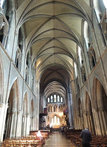 St. Patrick`s Cathedral, view from the inside