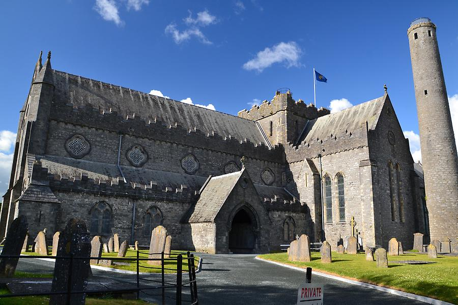 St. Canic´s Cathedral in Kilkenny