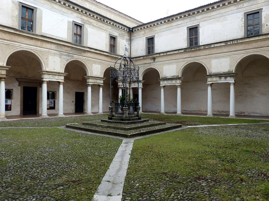 Abbey of St. Nicholas - Baroque Cloister