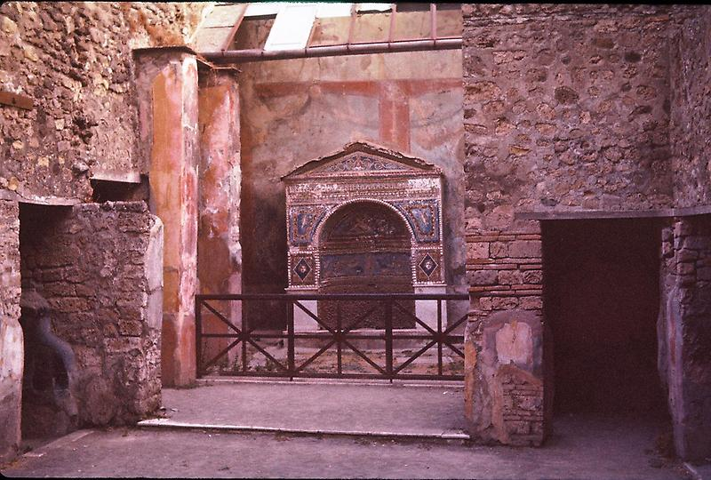 Roman home buried in Pompeii
