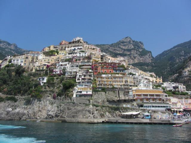 Homes in Positano