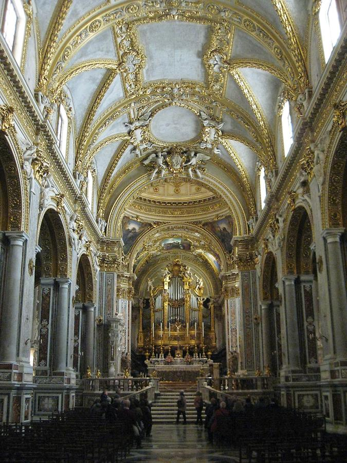 Cassino - Abbey of Monte Cassino, Monastery Church