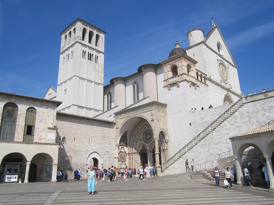 Assisi - San Francesco, Lower and Upper Church