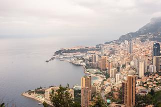 View of city towards sea