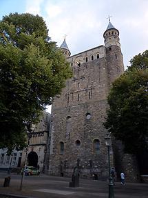 Maastricht - Liebfrauenkirche; Romanesque West Facade