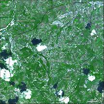 'Satellite picture of San Marino