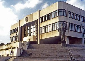 Parliament Building in Bratislava