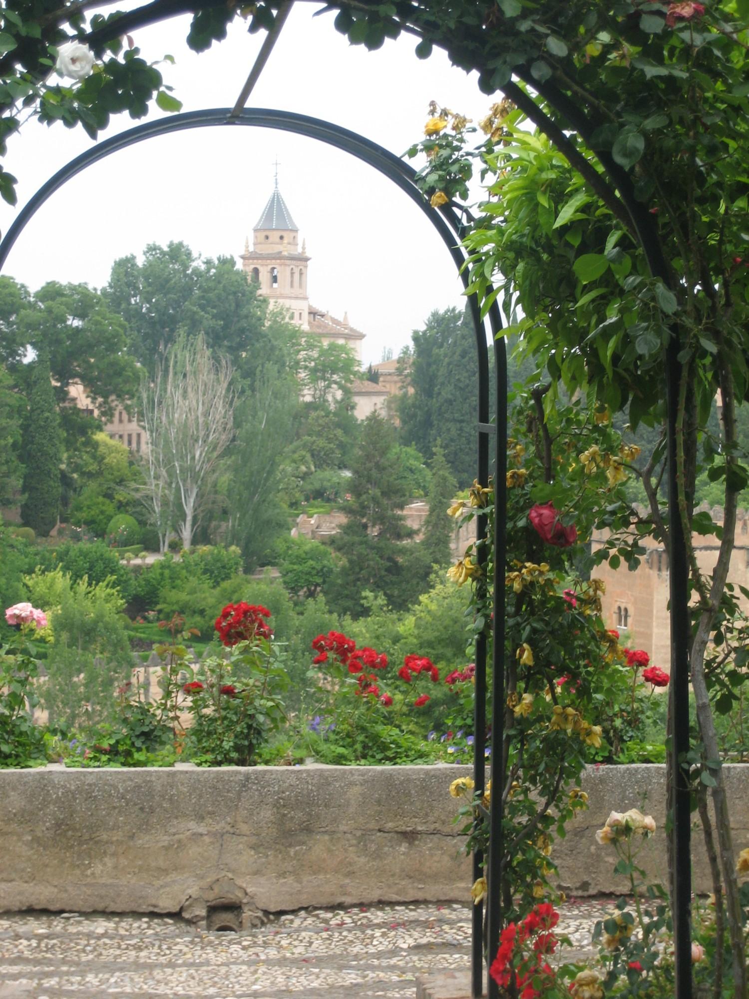 Granada palacio de generalife jardin 4 andalusia for Jardin de gomerez granada
