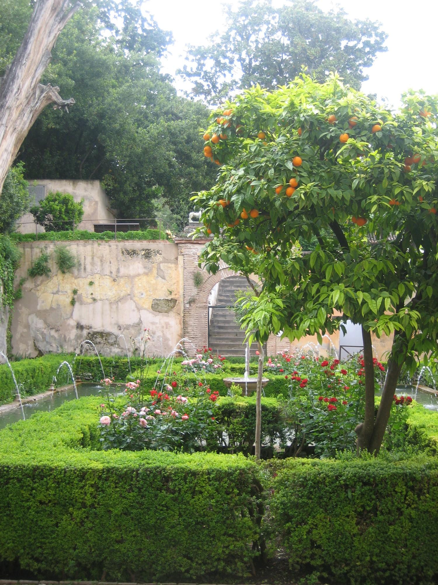 Granada palacio de generalife jardin 6 andalusia for Jardin de gomerez granada