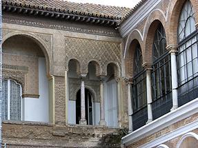 Seville Alcazar - Patio de la Monteria