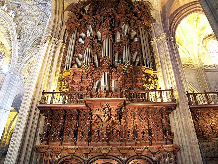 Seville Cathedral - Organ
