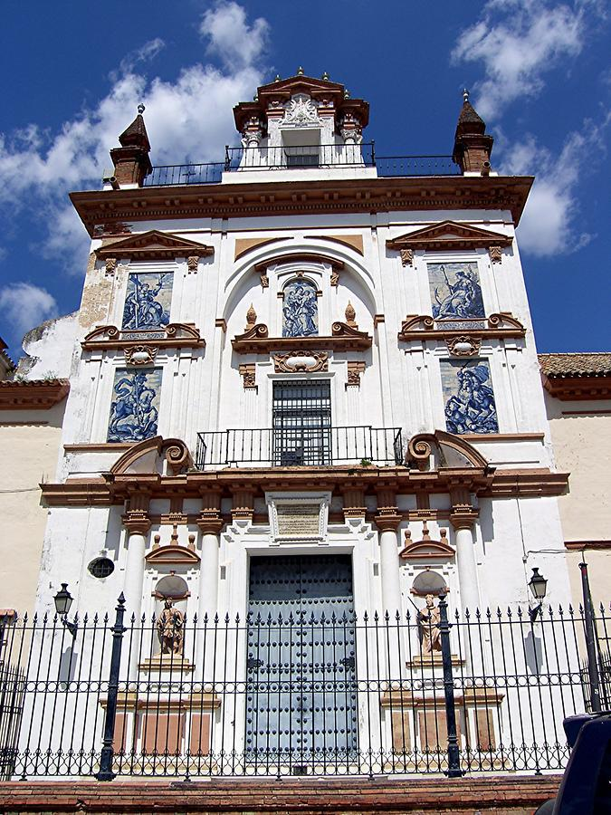 Seville Hospital de la Caridad in Sevillian baroque style