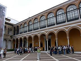 Seville Reales Alcazares - Patio de la Monteria (1)