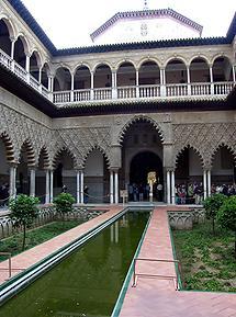 Seville Reales Alcazares - Patio de las Doncellas