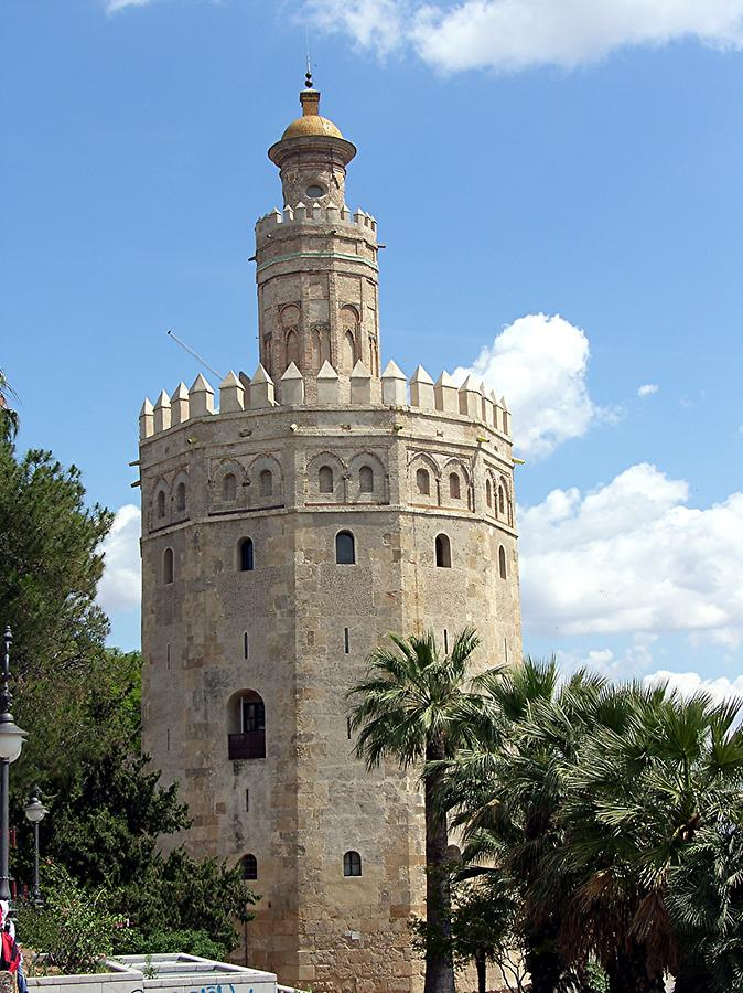 Seville's golden Tower