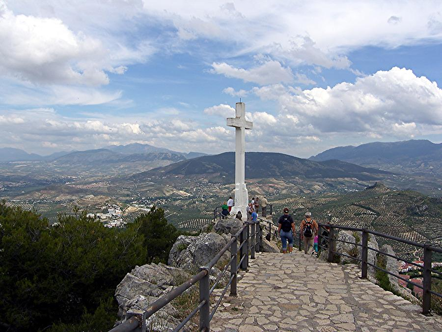 Jaen – Saint Catherine's Castle Summit Cross