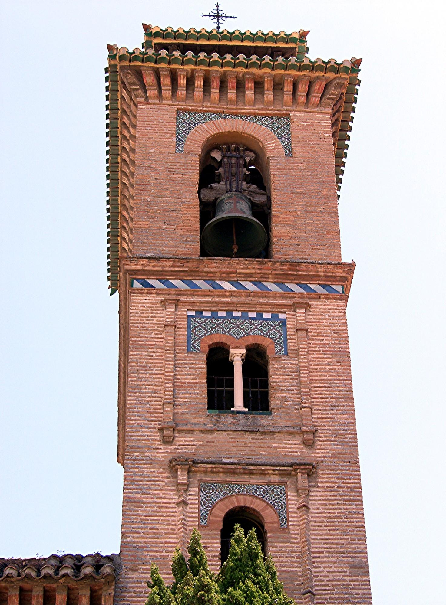 Granada santa ana church steeple andalusia 4 - Santa ana granada ...