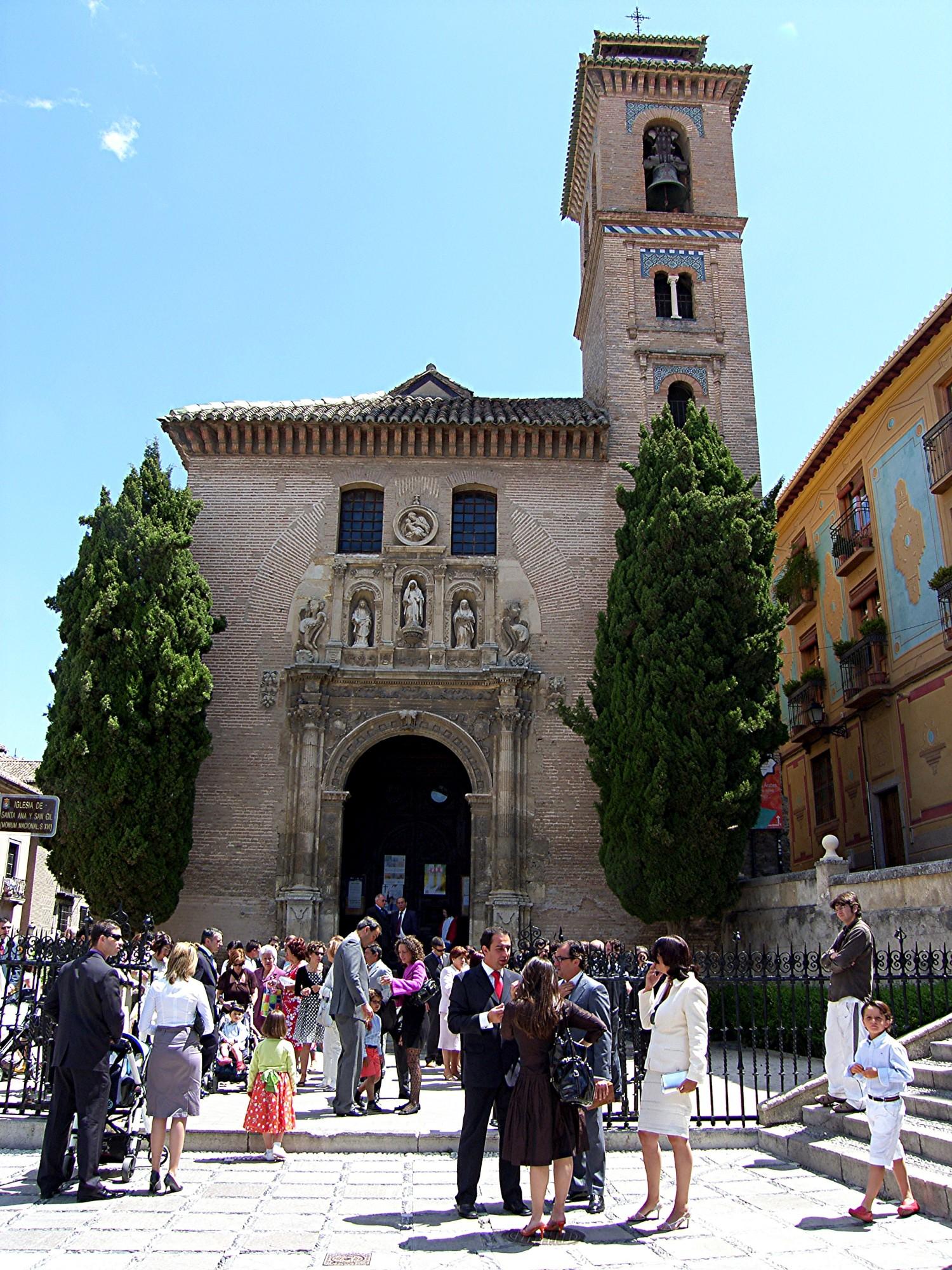 Granada santa ana church 16 century andalusia 4 - Santa ana granada ...