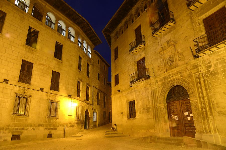 Sos del Rey Catolico at Night