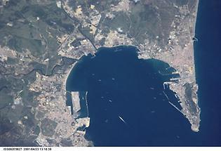 European side of the Strait of Gibraltar