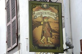 St Jean Pied de Port - Hanging Sign
